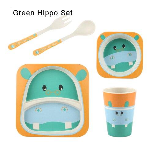 Green Hippo Set