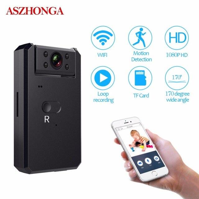 Mini IP Camera Wireless Wi-Fi 4k/2k/1080p/720p Full HD Night Vision Portable Wide Angle 128GB TF Card USB Cpy Alarm CCTV Camera