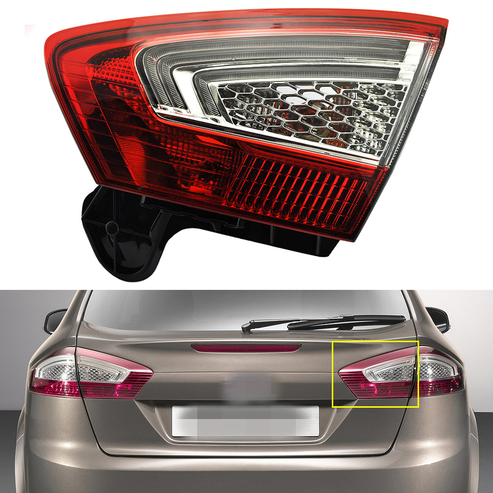 1Pcs Inner Tail Lamp Rear Lamp Tail Light Right Side for Ford Mondeo Fusion 2011-2012 1 pcs lh left side outer taillamp tail light rear lamp light for ford mondeo 2011 2012