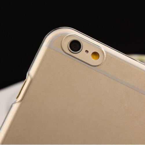 Hard Crystal Case for iPhone 7 8 Plus 6 6S 5S 5 SE 5C 4S Մաքուր - Բջջային հեռախոսի պարագաներ և պահեստամասեր - Լուսանկար 3