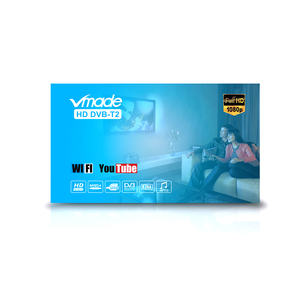 Image 5 - Vmade 2019 venda quente hd 1080p tv sintonizador DVB T2/t digital receptor terrestre conjunto caixa superior suporte h.264 MPEG 2/4 youtube pvr