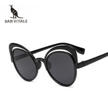 63ff0d231 Mulheres Óculos De Sol Cor Óculos de Sol Das Mulheres Na Moda Ocasional  Piloto Shades óculos de Visão Noturna Óculos Novo 2018 M..