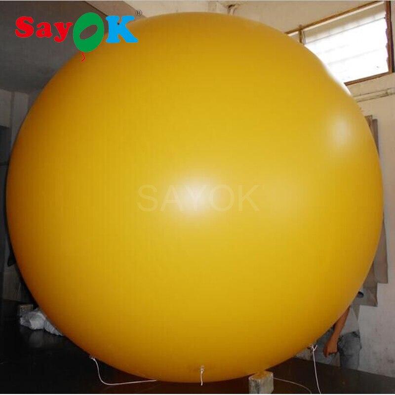 Globo inflable del cielo del globo del helio del PVC 2 M para el evento de promoción de publicidad-in Globos y accesorios from Hogar y Mascotas    1