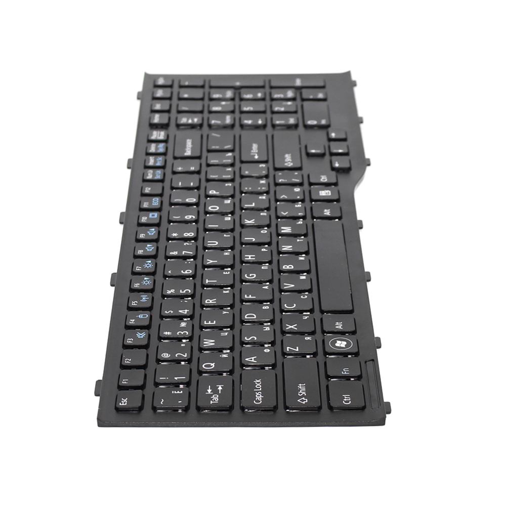 US laptop Keyboard Teclado Black For Fujitsu Lifebook AH532 A532 N532 NH532 MP-11L63US-D85 CP569151-01 Series With frame transcend ts32gmts400