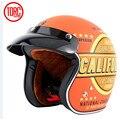 A estrenar de la vendimia casco torc casco retro de la motocicleta para motos chopper para motos harley motocicleta casco, capacete