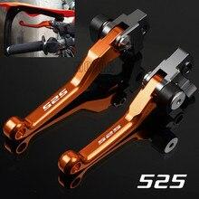 For KTM 525EXC-R/525SX/525SX-R/525XC/525XC-W 2005-2007 525 EXC R/SX R/XC W CNC Motorcycle Dirt Bike Pivot Brake Clutch Levers кольца liza geld 11801294 r pe w