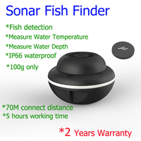 70M Distance Connection Fishfinder Fish Detector Double Sonar Fishing Finder Fishing Product Free Ship
