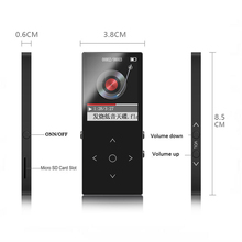 Bluetooth MP3 Player Touch Screen