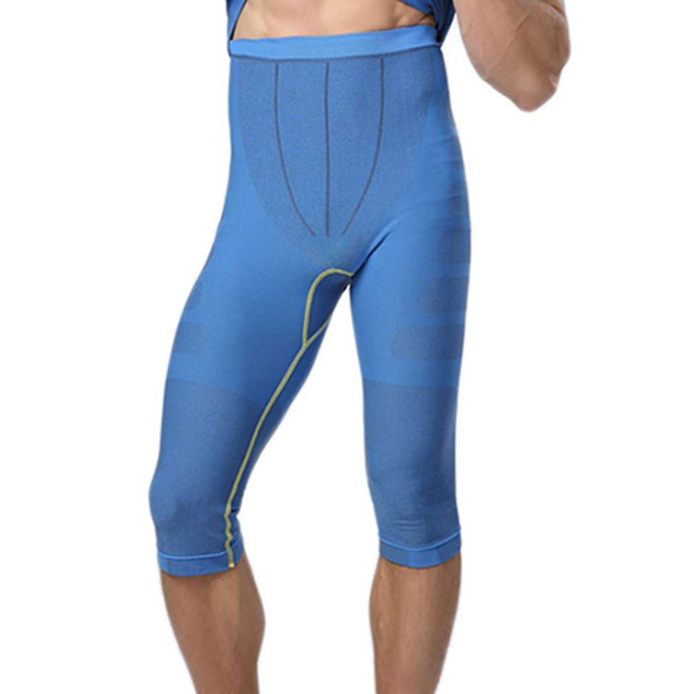 54b176518 MA08 Men Carry Buttock Thin Leggings Fast Drying Slimming Compression Calf  Length Pants Body Shaper Tights Shapewear-in Casual Pants from Men s  Clothing on ...