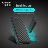 ORICO 10000 20000mAh Powerbank Portable External Battery Ultra Slim USB Mobile Charger Quick Charge For Phones