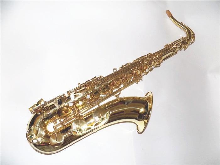 Professionelles Bb-Tenorsaxophon mit Etui gelb Brass Saxophon professionelle Blasinstrumente