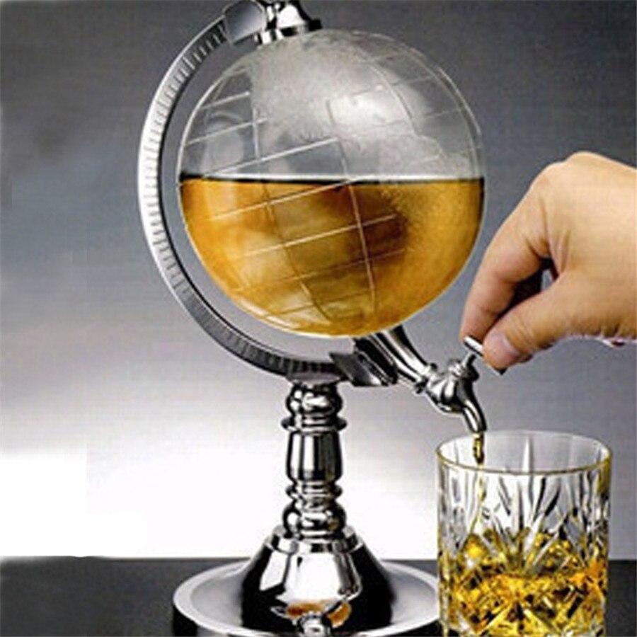 1.5L Mini Globe vin verseur vin Rack distributeur Barware bière boisson alcool verser Machine Point vin boire Bar outils