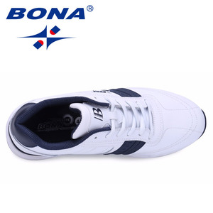 Image 4 - BONA New Popular Style Men Casual Shoes Lace Up Comfortable Shoes Men Soft Lightweight Outsole Hombre  Free  Shipping
