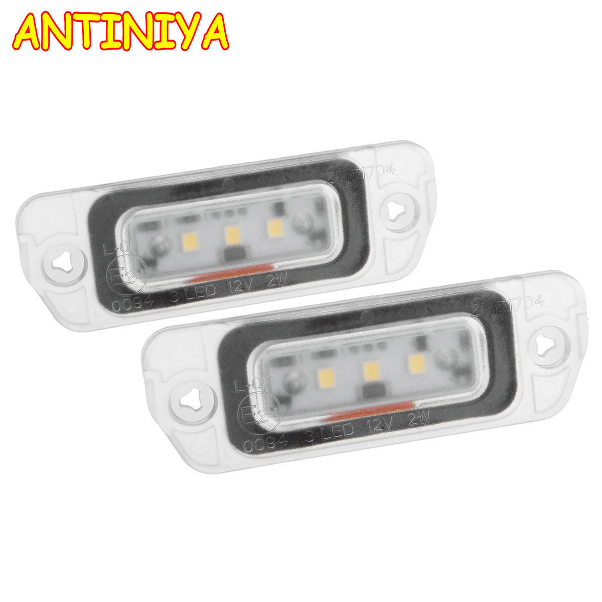 2pcs Error Free LED License Plate Light Lamp A2518200166 Fit for Mercedes X164 W164 W251 GL ML R Class 2006 2007 2008-2012 White ol 6493 xeфигура сова сказка перед сном sealmark