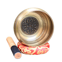 New Tibetan Bowl Sing Bowl Nepalese Buddhist Tibetan Chanting Yoga Meditation Bowl Buddhist Sound Therapy Bowl Copper Religion
