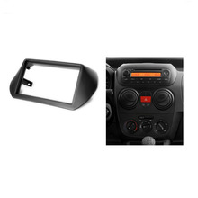 2 Din Radio Fascia for CITROEN Nemo 2008+,PEUGEOT Bipper 2008+,FIAT Fiorino 2008+ GPS Navigation DVD Audio Dash Mount Trim Kit