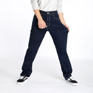Image 5 - Drizzte สูงเอวหลวมตรง Mens ยืดกางเกงยีนส์กางเกงยีนส์สีฟ้ากางเกงแบรนด์ใหญ่และสูงกางเกงยีนส์สำหรับ big Man
