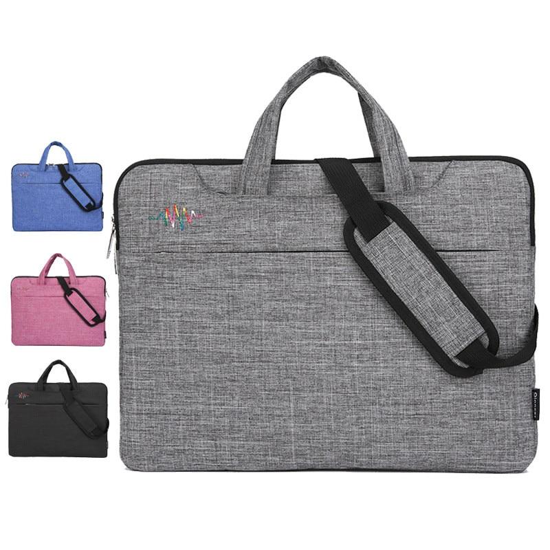 New Men Large Capacity Laptop Briefcase Bag Travel Handbag Mens Nylon   Business Computer Bags For 14 15 Inch Macbook Pro PC