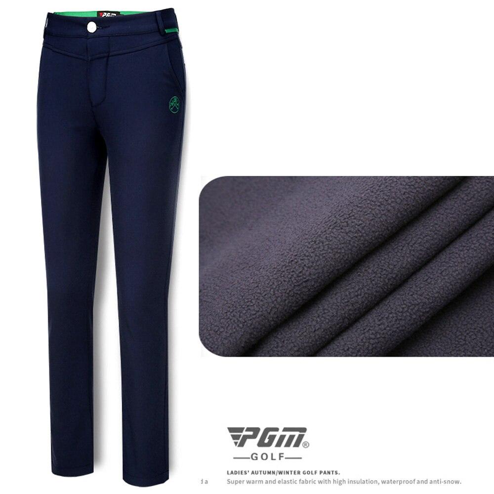 2018 Nuovo PGM Donne Pantaloni Sportwear Slim Vestiti di Inverno/Autunno Più di Velluto di Spessore Tenere In Caldo Pantaloni Skinny Golf/ da tennis Mutanda