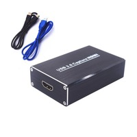 Drive Free USB3.0 Capture Card Box 1080P 60FPS HDMI Video Capture for Windows Linux OS X System Dongle