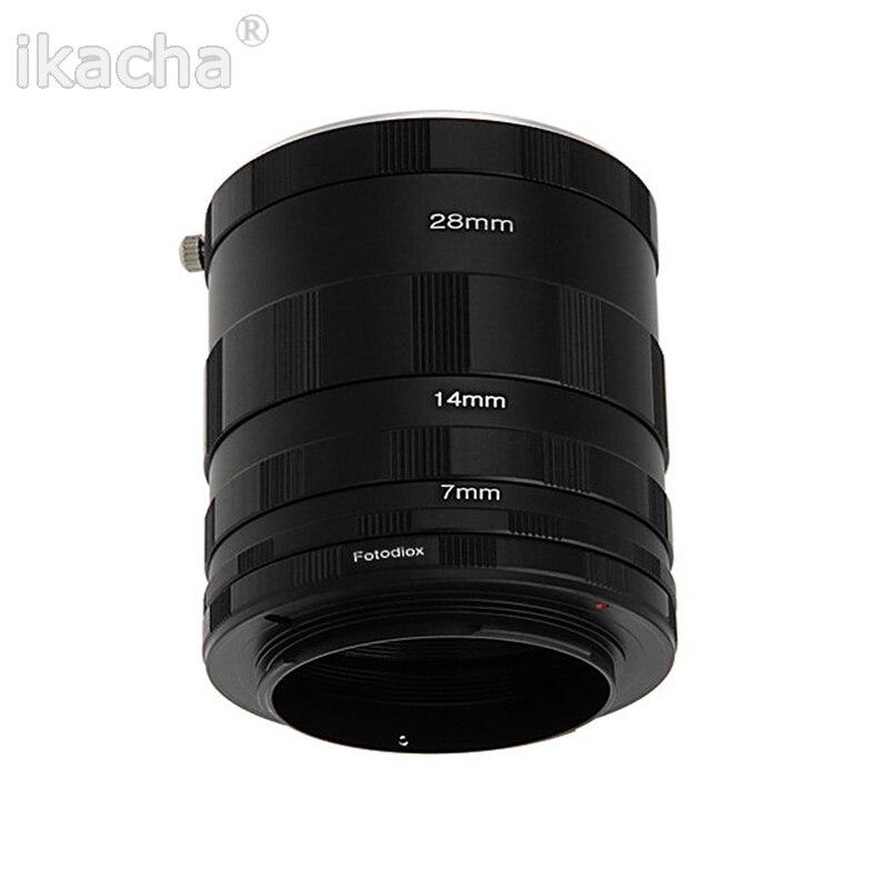Nouveau 3 Macro Extension Tube Anneau Adaptateur pour Nikon D800 D3100 D5000 D7000 D70 D50 D60 D100 Caméra
