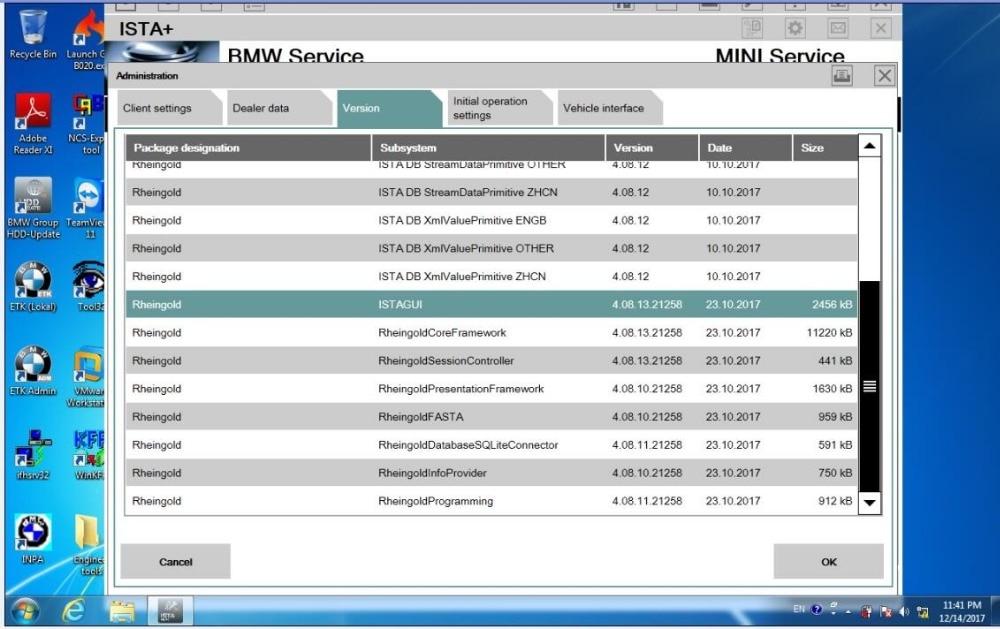 2018,12 ISTA/D 500 ISTA/P 3,65 для BMW ICOM Программное обеспечение 4,14 ГБ HDD мульти-язык с инженерами Программирование windows 7