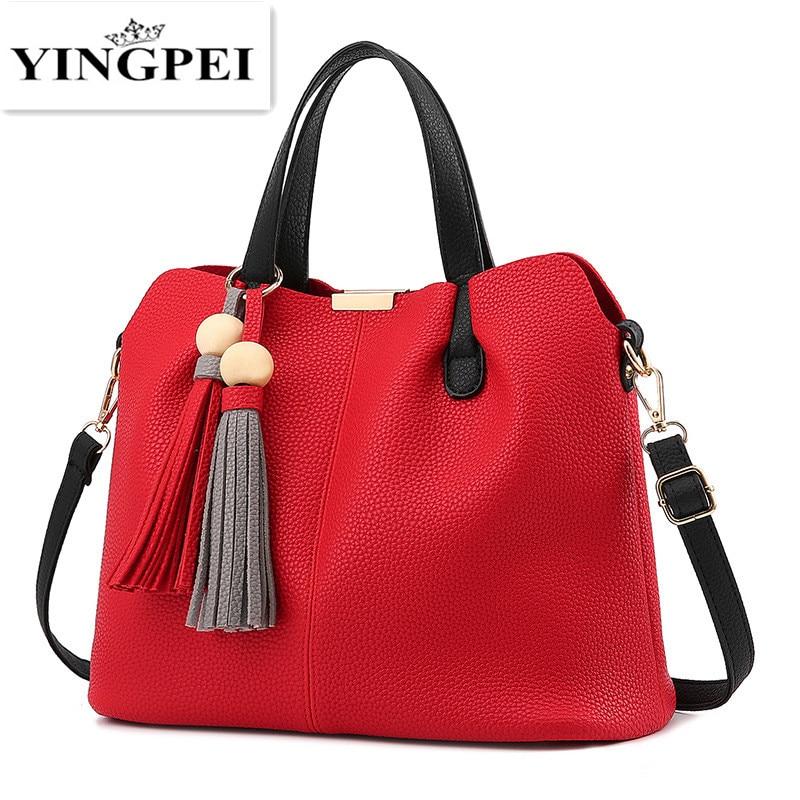 YINGPEI font b women b font messenger font b bag b font luxury font b handbags