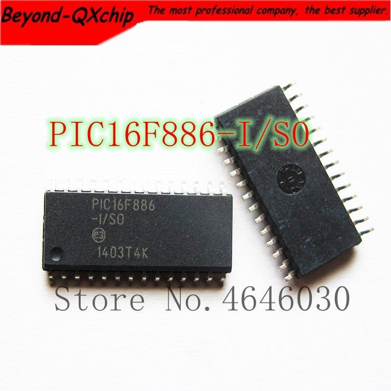 Free Shipping original IC PIC16F886 I SO PIC16F886 16F886 SOP28 100pcs lot