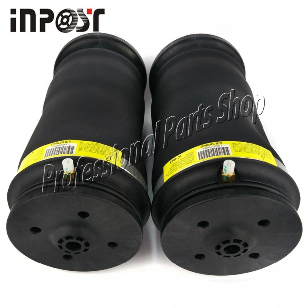 2PCS Rear Left / Right Air Suspension Bag For Mercedes W164 ML CLASS 1643201025, 1643200925