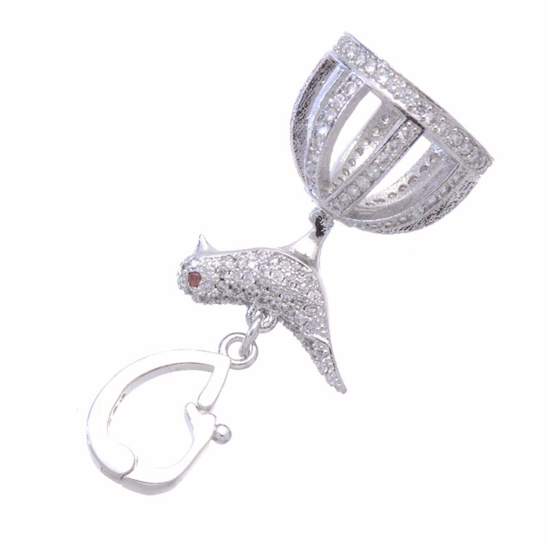 Jewelry Making Supplies High Quality Metal Copper Bird Below Crown Charms Tassel Bead Caps Paved Zircon crystal Jewelry FindingsJewelry Making Supplies High Quality Metal Copper Bird Below Crown Charms Tassel Bead Caps Paved Zircon crystal Jewelry Findings