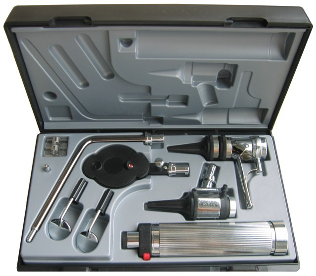 Kit de diagnostic médical professionnel orl Kit de diagnostic Direct de l'otoscope et de l'ophtalmoscope