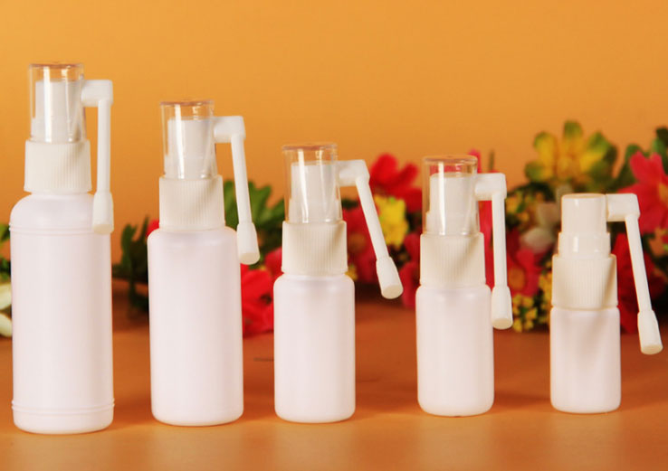 Plastic Mist Spray Bottle, Medical Use White Plastic Bottles, Elephant trunk spray bottle