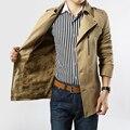 Nueva casual de negocios traje para hombre de la chaqueta de algodón delgado y el invierno de ropa , además de terciopelo chaqueta de abrigo de hombre