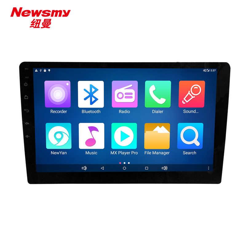 4 Г HD DVR bluetooth wi fi 10.1 дюймов android 5.0 универсальный автомобиль головного устройства