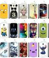 15designs tiger Minions batman stitch adventure time white hard cases for Samsung Galaxy S4 Active i9295 free shipping