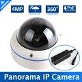 "1/3 ""OV4689 HD CCTV Dome 4MP Fisheye Câmera IP POE Ao Ar Livre IP66 À Prova D' Água, 4.0MP (2592*1520)/3MP (2048*1536), 5MP Lente de 1.7 MM, p2p"