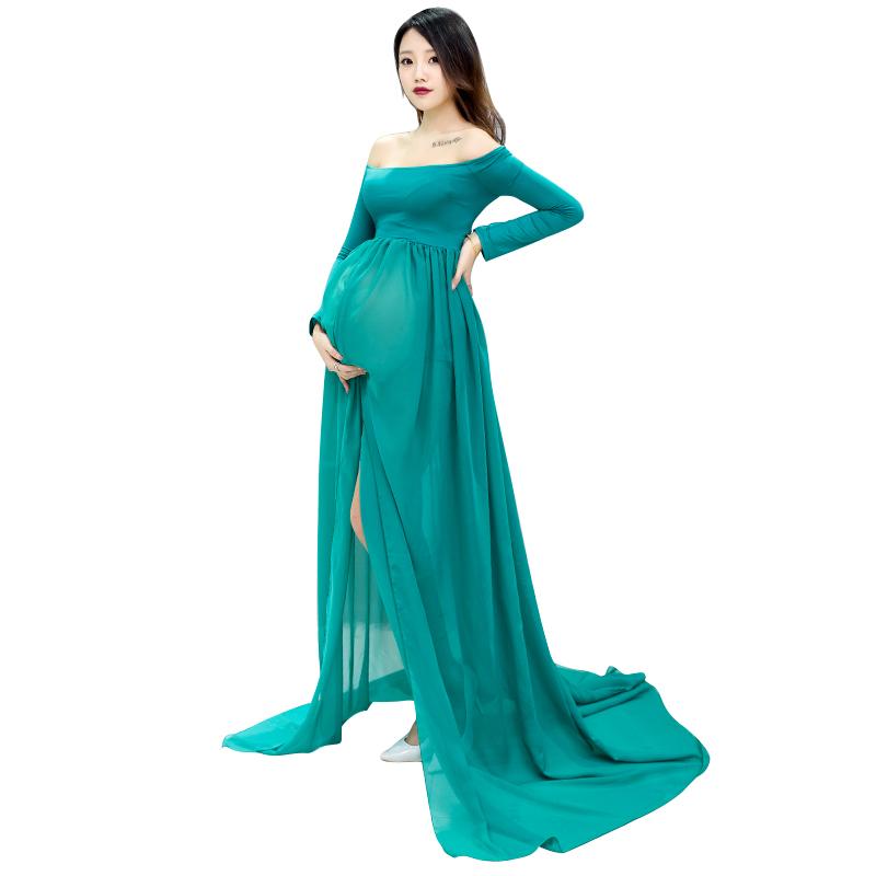 67726a347c6 Bat Shirt Maternity Photography Props Off Shoulder Sexy Lace Short Dresses  Fashion Pregnancy Dress Photo Shoot Maternity Dress USD 8.99 piece