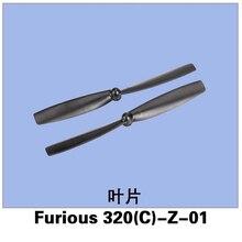 4 pcs/Set Original Propeller Set for Walkera Furious 320 RC Drone Furious 320(C)-Z-01 Free Shipping