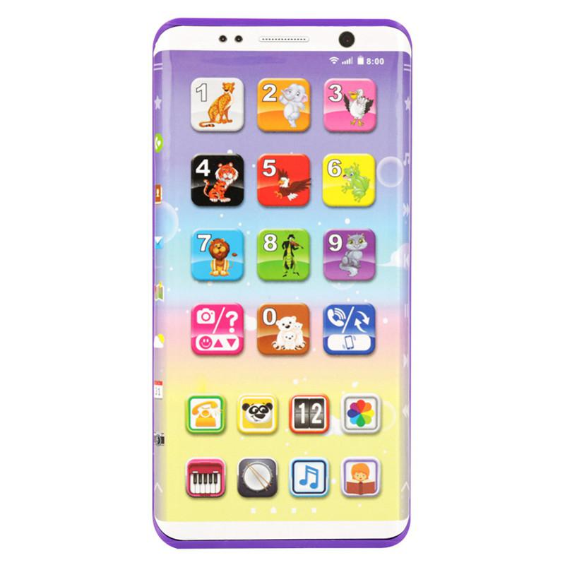 Educational Kids Phone Toys Kids Smart Phone Toys with USB Port Touch Screen English Learning Educational Toys