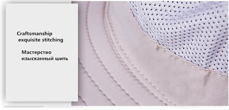 Fashion Sun Hats Mens Large Round Brim Unisex Block Quick Drying ... 022f97cb681d