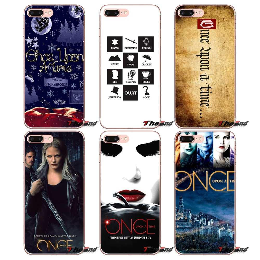 Silicone Phone Shell Case Once Upon A Time For Samsung Galaxy S2 S3 S4 S5 MINI S6 S7 edge S8 S9 Plus Note 2 3 4 5 8 Coque Fundas
