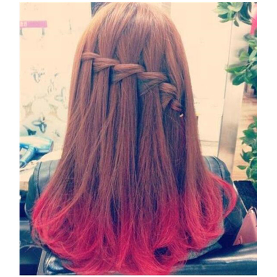 Hair Dye Style Mesmerizing Fashion Diy Temporary Wash Out Dye Hair Color Coloring Style .
