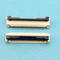 100pcs/lot 1.0mm 30P Down Clamshell Connector FFC FPC 1.0mm Pitch 30Pin/way Flexible Flat Cable Connector