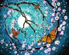 """DIY Painting By Number – Butterfly (16""""x20"""" / 40x50cm)"""