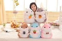 Hamster Plush Action Toys Figure Soft Plush Animal Hamster Doll Christmas Little Gift