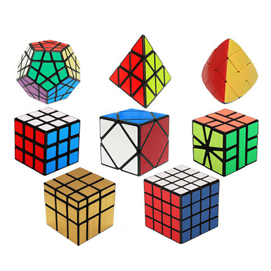 Intelligence Toy Magic Cube Puzzle Games Children Spinner Bearing Juguetes Plastic Puzzles Cubos Magicos Educational Toys 50D600 1000pcss wooden puzzles wool puzzle adult decompression toy jigsaw puzzle for children s educational toys developmental game