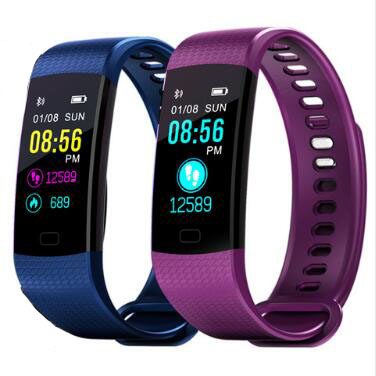 Smart Armband Y5 Smart Armband Herzfrequenz Blutdruck Uhr Fitness Tracker Smart Band PK Xiaomi Mi Band 3 PK Ehre Band 3