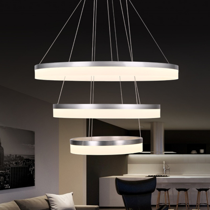 Ring LED room dining modern pendant lights ring fashion personality creative pendant lamp art bedroom hall Pendant lamps FG172 modern living room light dining ring led crystal pendant lights room three bedroom creative personality pendant lamps
