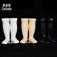 New A Pair Kids Baby Children Mannequin Dummy Foot Display Mold Shoes Socks Display Tool Plastic Torso Foot