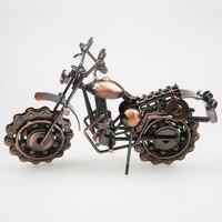 Ofício do metal de solda nova motocicleta acessórios de Decoração Para Casa grande modelo de moto ferro metal artesanato artesanato presentes menino